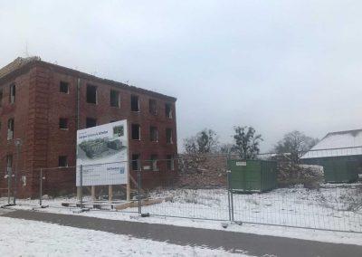 Projekt Campus Wohnen & Arbeiten - Abriss Garnisonsgebäude
