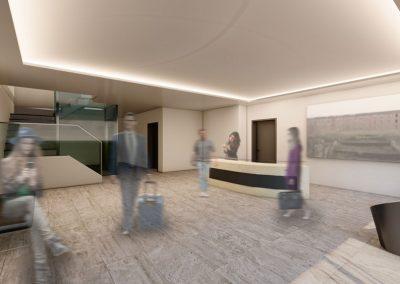 Campus-Suiten-Innenperspektive