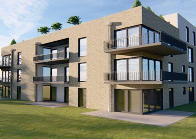 Campus Planungsansicht Wohnhaus