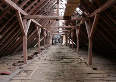Alte Garnison - Dachboden